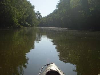 Bourbeuse River Kayak Smallmouth Fishing