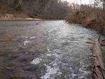 Riffle on Little Piney Creek-Trout Fishing