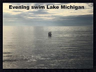 Evening on Lake Michigan at Lake Michigan Rec Area