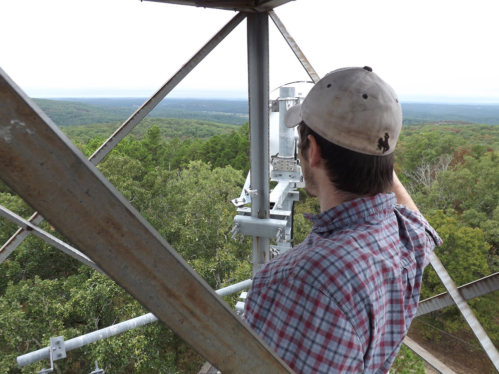 Firetower on Stegall Mountain in Peck Ranch