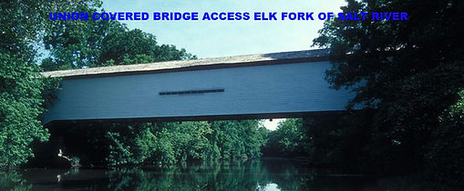 Union Covered Bridge Access, Elk Fork of the Salt River