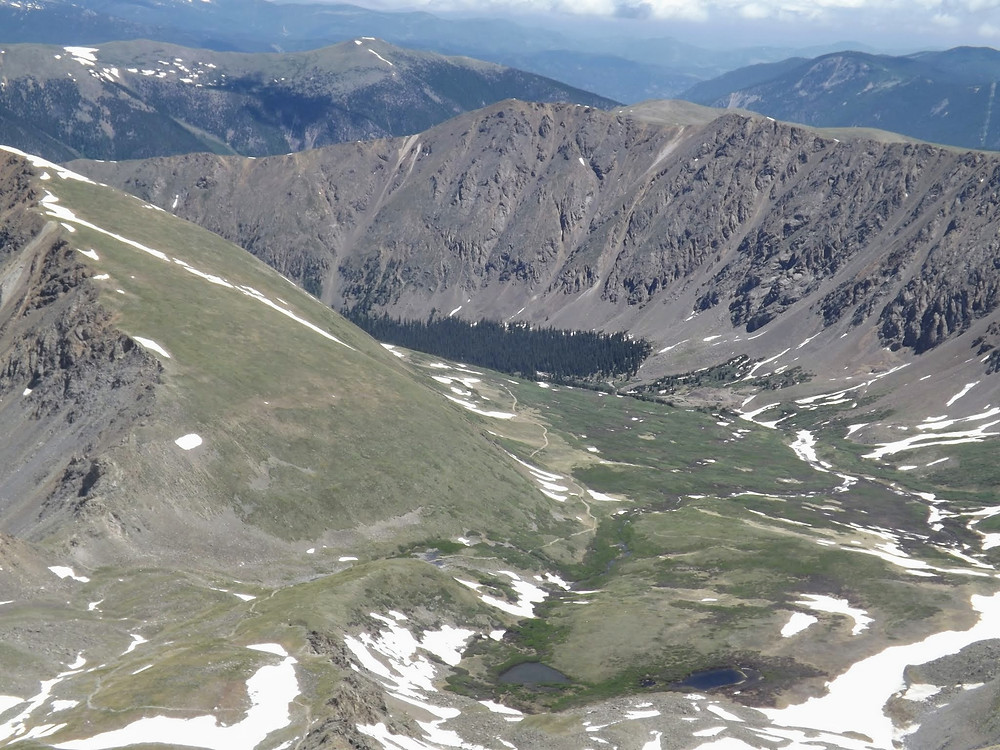 Arapahoe National Forest, Grays and Torreys Peaks