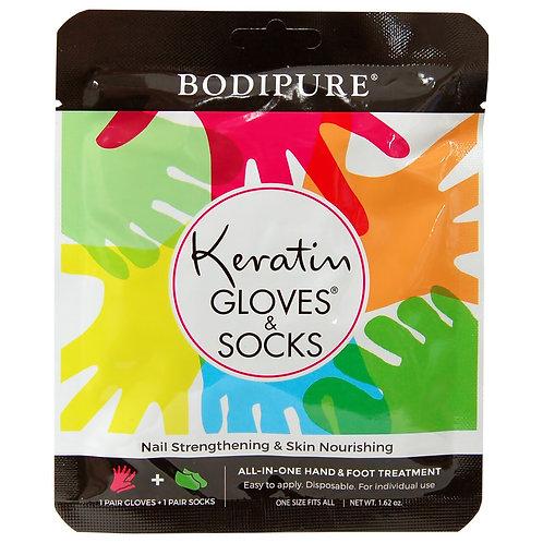 KERATIN GLOVES + SOCKS BY BODIPURE