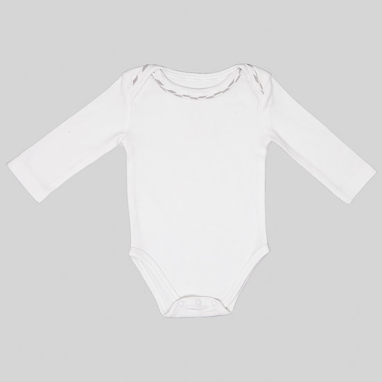 L&M Long Sleeve Organic Bodysuit