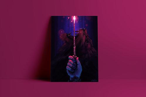 Harry Potter A4 Print