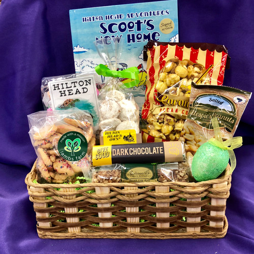 Gift basket store bluffton south carolina lowcountry aunt easter basket for kids negle Image collections