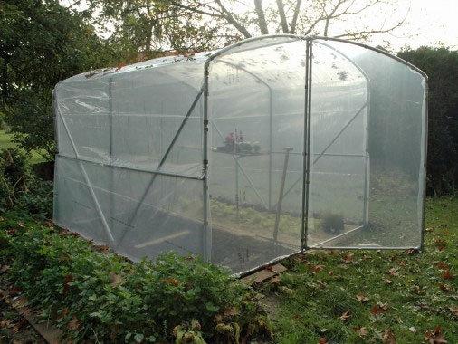 Serre petit jardin classique Larg x  3m