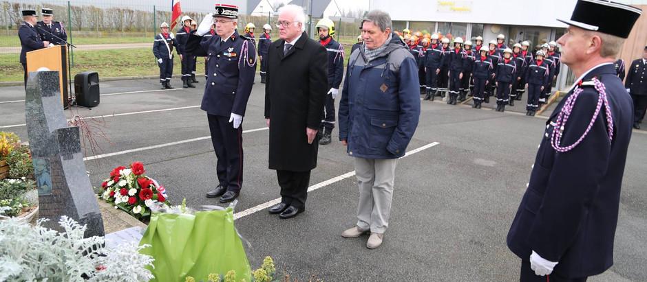 Hommage au Sergent Jonathan COTTREZ et au Caporal Arnaud DAUCHY