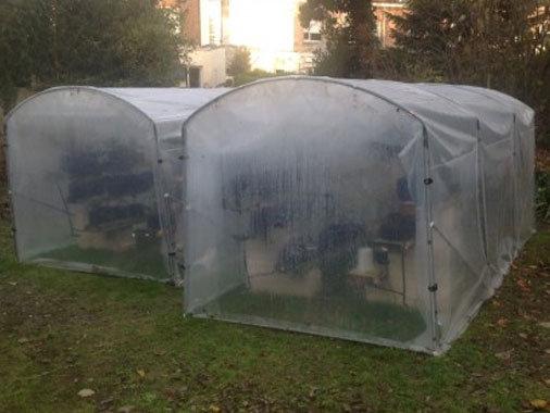 Cabane à Tomates  larg x 2m acier renforcé 30mmx2mm