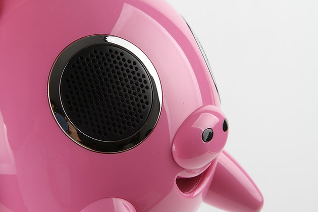 Enceinte portable BLUETOOTH Cochon rose