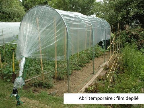 Abri temporaire à tomates | largeur 1m30
