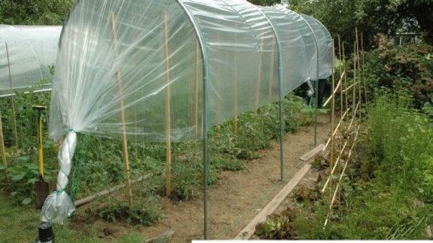 Abri temporaire à tomates - largeur 1,25m - ø 25