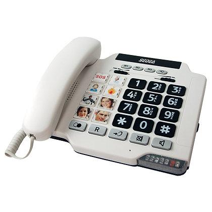 Téléphone senior grosses touches photos