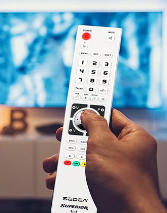 Télécommande universelle – 1 en 1 – programmable par USB