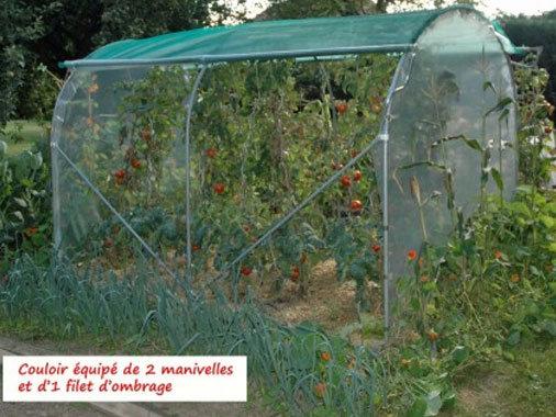 """Couloir à Tomates  """"XL""""  larg x  2m40"""