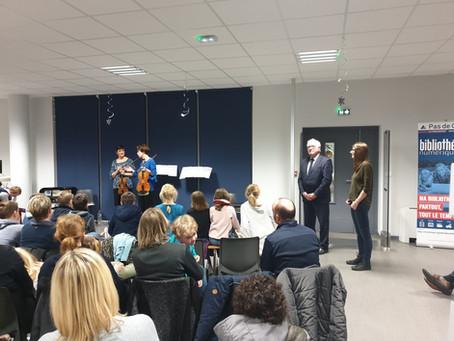 Médiathèque de Lapugnoy - Les solistes du Concert d'Astrée