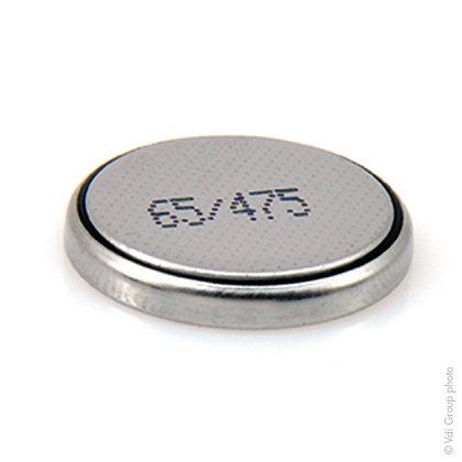 Blister de 1 pile bouton lithium CR2032 / 3V / 225mAh