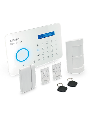Système d'alarme maison   SEDEA Elégante 100   GSM + RTC