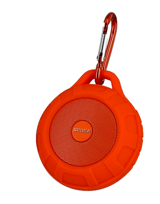 Enceinte portable ultralégère Bluetooth Orange