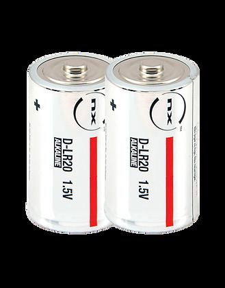 Boite de 2 piles LR20 / 1,5V / 19,76Ah – NX