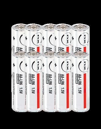Boite de 10 piles LR06 AA / 1,5V / 3,4Ah – NX