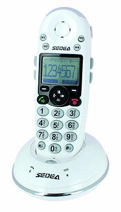 Téléphone sans fil sénior grosses touches