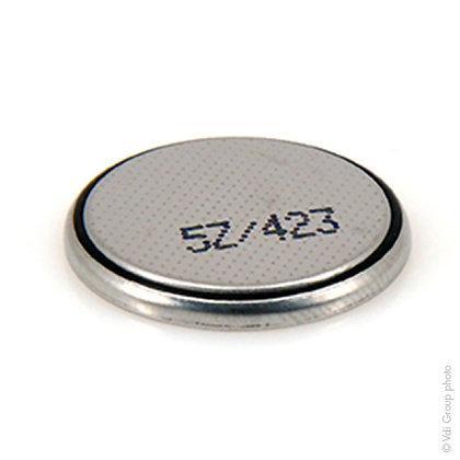 Blister de 1 pile bouton lithium CR2025 / 3V / 160mAh