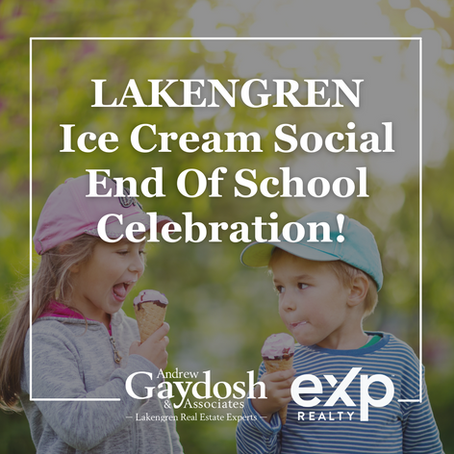 Lakengren Ice Cream Social End of School Celebration