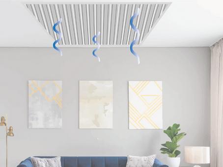 Le plafond rafraîchissant : confort et économie pour l'été !