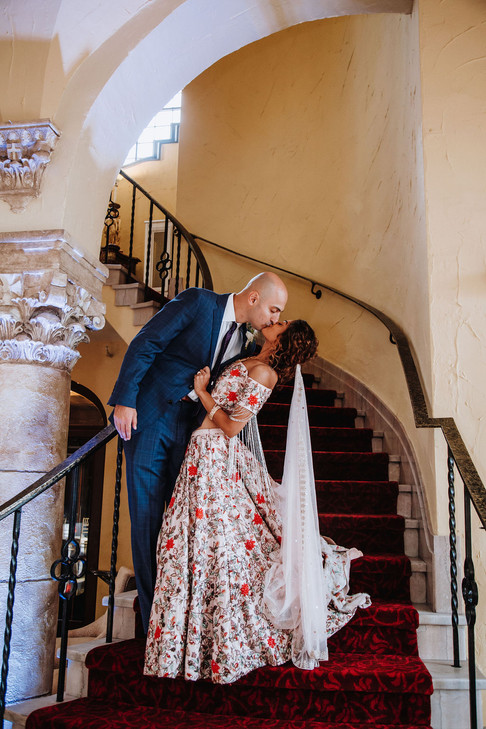 Grand Entrance with a Kiss
