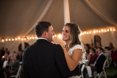 Dad's dance with his little girl.