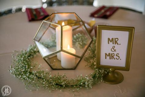 Geometric Wedding Design