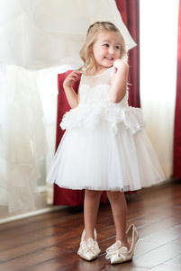 Ceremony Venue: The World Fair Pavillion Photographer: Ashley Fisher Photography Inspired Design Weddings & Events Dress: Simply Elegant Bridal