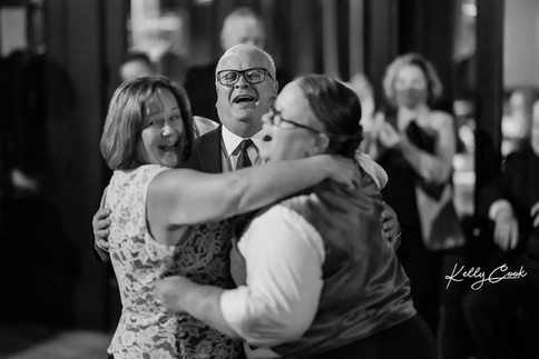 Mom, Dad and Daughter Dance