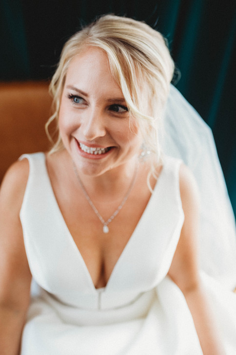The Beaming Bride
