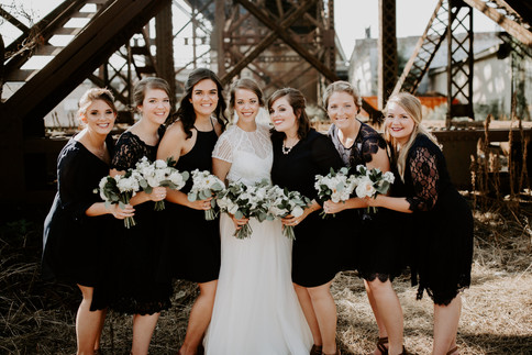 The Bride and Her Gals