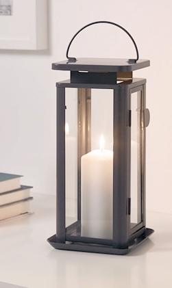 Modern Gray Metal Lanterns