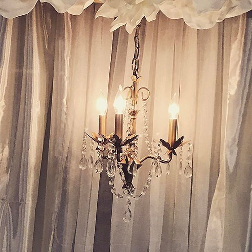 Small Gold Chandelier