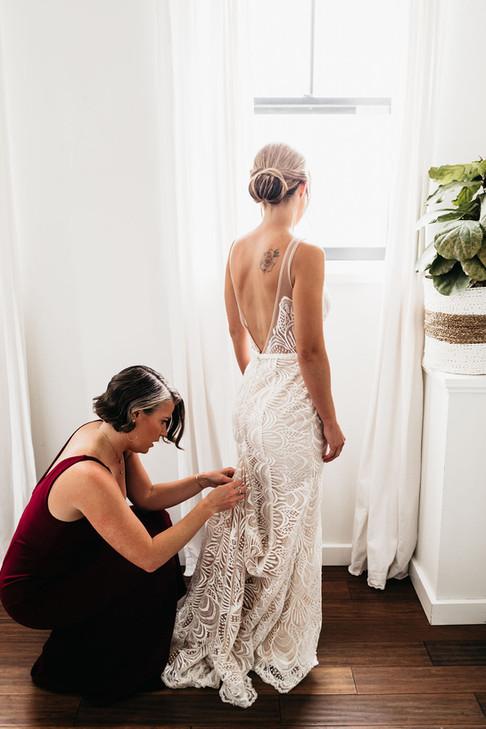 Finishing the Dress