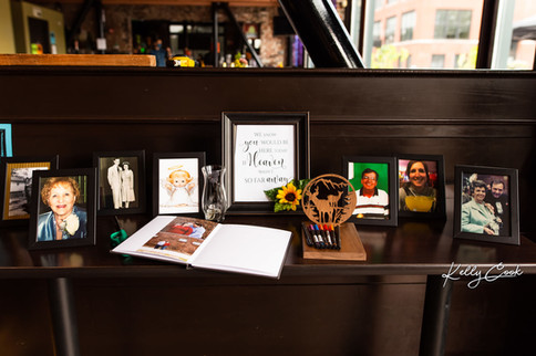Memory Table with Guest Book