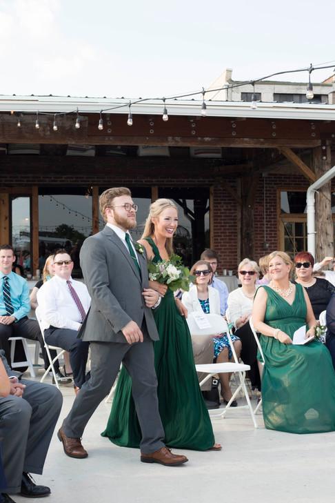 Wedding Party Procession