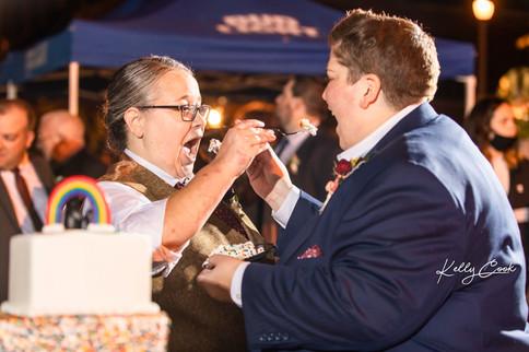 Feeding the Cake