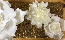 Medium Dahlia & Rose