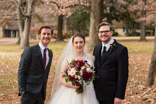 A Moment with their Officiant