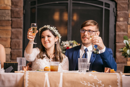 Toasts to the Couple