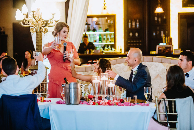 Toasts from the Maid of Honor