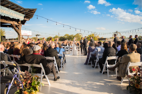 Rooftop Ceremony in the City