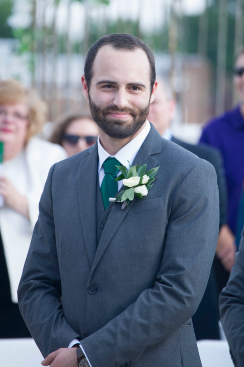 An Excitied Groom