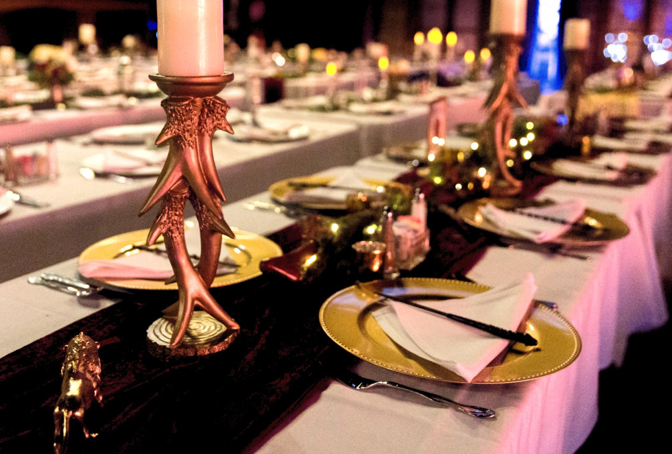 Gryffindor Guest Tables