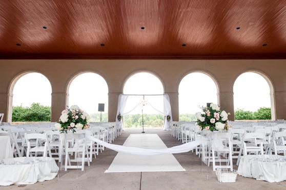 Ceremony Venue: The World Fair Pavillion Photographer: Ashley Fisher Photography Florals: Belli Fiori Wedding Planner: Inspired Design Weddings & Events Wedding Designer: Table 10 Events